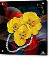 Natalys Flower Acrylic Print