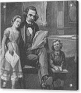 Nathaniel Hawthorne, American Author Acrylic Print