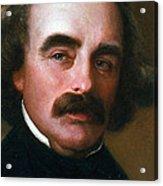 Nathaniel Hawthorne Acrylic Print