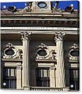 National Bank Of Romania Acrylic Print