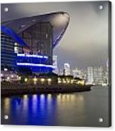 National Convention Center At Night Acrylic Print