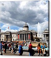 National Gallery At Trafalgar Square Acrylic Print