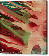 Native Abstract Weave Acrylic Print