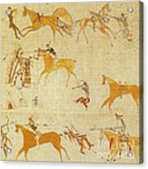 Native American Art Acrylic Print