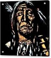 Native American Elder Acrylic Print