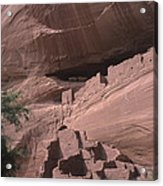 Native American Ruins Acrylic Print by Dirk Wiersma