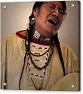 Native Cheyenne Chant Acrylic Print