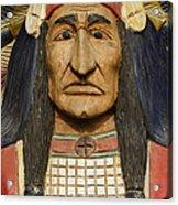 Native Chief Acrylic Print