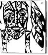 Native Man Acrylic Print