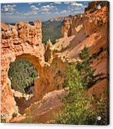 Natural Bridge In Bryce Canyon National Park Acrylic Print