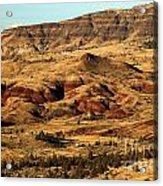 Naturally Painted Hills Acrylic Print