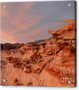 Natures Artistry At Little Finland Acrylic Print