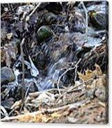 Natures Ice Maker Acrylic Print