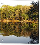 Natures Reflection Guatemala Acrylic Print