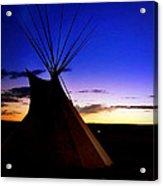 Navajo Night Acrylic Print