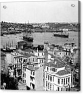 Naval Arsenal And The Golden Horn - Ottoman Empire - Turkey Acrylic Print