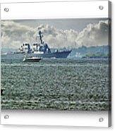 Naval Ship Acrylic Print