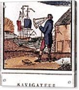 Navigator, 19th Century Acrylic Print