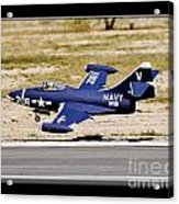Navy Landing Acrylic Print