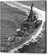 Navy: Uss Bainbridge, 1968 Acrylic Print
