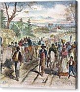 Nc: Freed Slaves, 1863 Acrylic Print