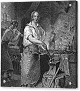 Neagle: Blacksmith, 1829 Acrylic Print