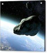 Near-earth Objects, Artwork Acrylic Print by Take 27 Ltd