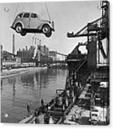 Near London.  The Ford Motor Plant Acrylic Print