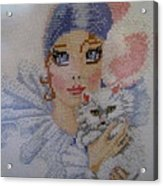 Needle Craft Acrylic Print by Joyce Woodhouse