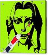 Needle Phobia Acrylic Print