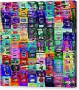 Needlepoint Acrylic Print