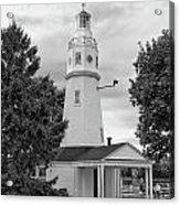 Neenah Lighthouse  8390 Acrylic Print