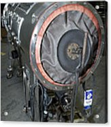 Negative Pressure Ventilator, Iron Lung Acrylic Print