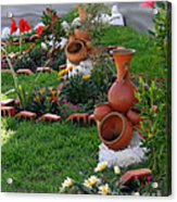 Neighborhood Adornments Acrylic Print