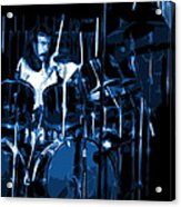 Blue Drums Acrylic Print