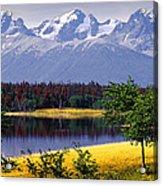 Nemiah Valley Acrylic Print
