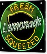 Neon Lemonade Acrylic Print