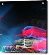 Neon Nights Acrylic Print by Rick Rauzi