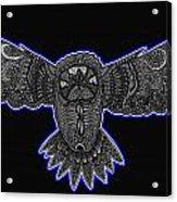 Neon Owl Acrylic Print