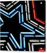 Neon Star Acrylic Print