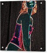 Neon Temptress Acrylic Print