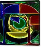 Neon Acrylic Print
