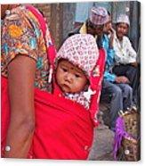 Nepali Baby Acrylic Print