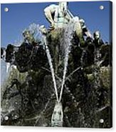 Neptune Fountain Acrylic Print by RicardMN Photography