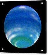 Neptune's Changing Seasons Acrylic Print