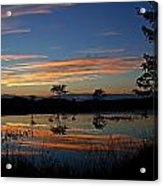 Nerepis Marsh Sunset Acrylic Print