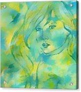 Nerissa  Daughter Of The Sea Acrylic Print