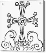 Nestorian Cross, 781 A.d Acrylic Print