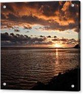 Netart's Bay Sunset 1 Acrylic Print