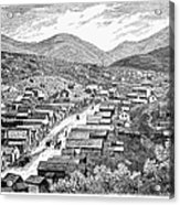 Nevada: Austin, C1880 Acrylic Print